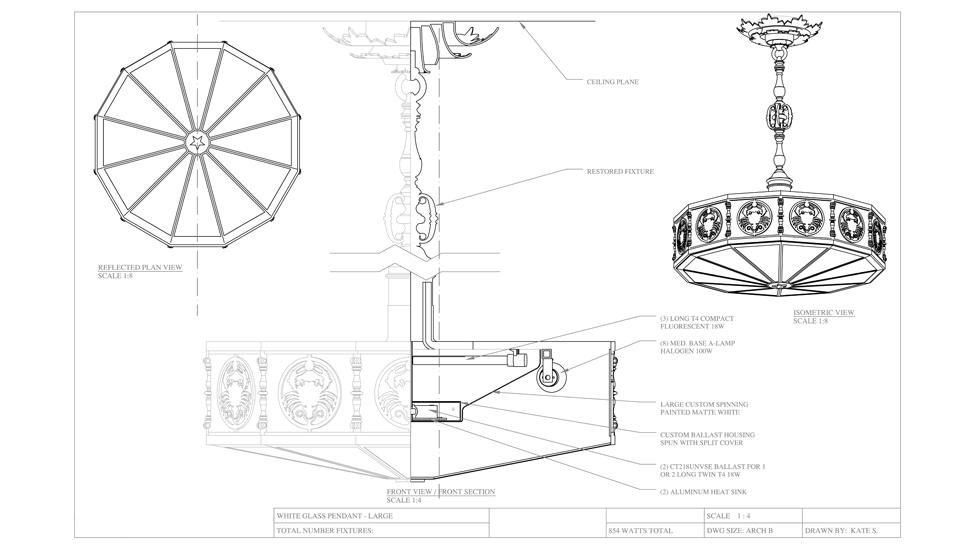 Gallery Fixture Engineering Drawings Kate Sweater