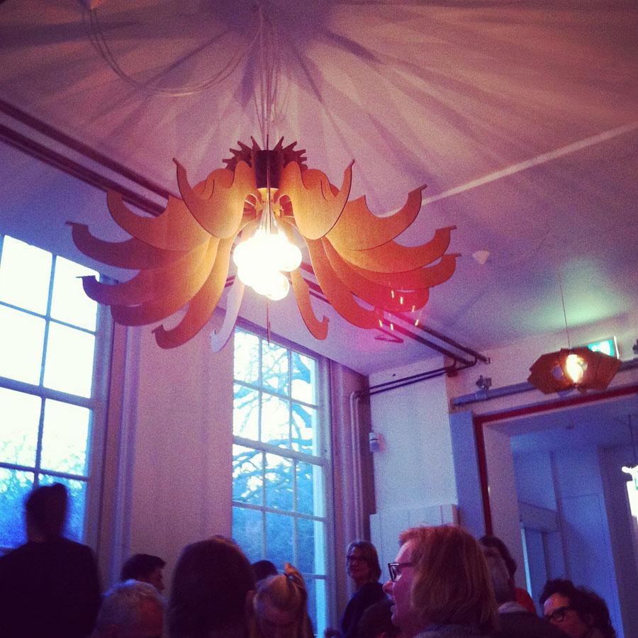 IndiePendants at Barbaar Cafe, Delft Netherlands